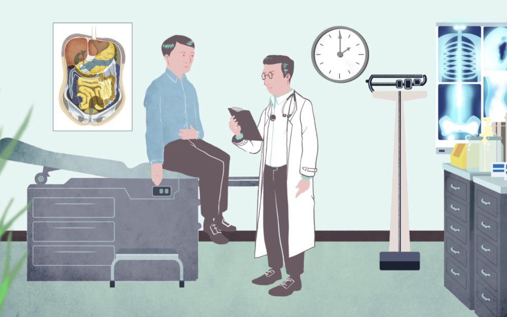 patient en dokter