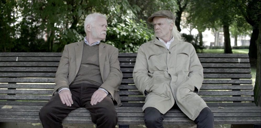 Guys in a park